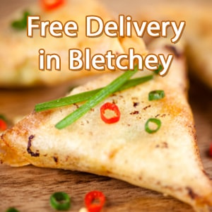 Indian curry food delivery in Bletchley